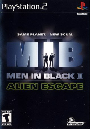 "Игра ""Люди в черном. Авария"" (Men in Black – The Series: Crashdown) 2002 скачать бесплатно для PlayStation"